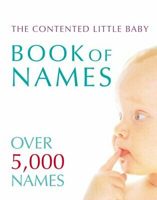 Contented Little Baby Book Of Names by Delaforce, Gillian Paperback Book The