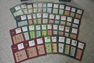 Coin Sets of All Nations - Many Uncirculated and Proof sets - 2 China Cards