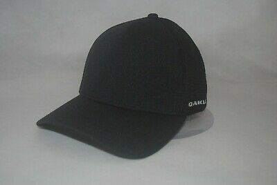 NEW Oakley Stretch Fit Mesh Back Baseball Cap Curved Bill Men's Hat S/M L/XL