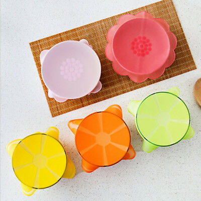 Silicone Fresh Keeping Food Wrapper Bowl Seal Cover Lid Food  Kitchen Supplies