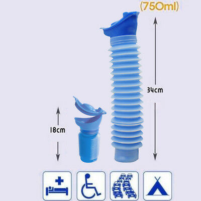 Portable Male Female Men Toilet Urinal Bucket Potty Pee Children Travel Camping