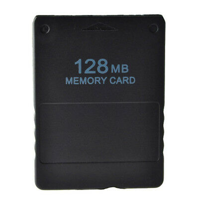 For Sony PS2 PlayStation 2 - 128MB Memory Card Save Game Data Stick Module FG
