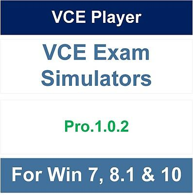 VCE Player - VCE Exam Simulator Pro.1.0.2 (Support Windows 7, 8.1 & 10)