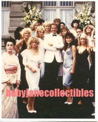 ROGER MOORE JAMES BOND photo with BOND GIRLS (bv1-10)