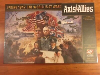 Axis & Allies Spring 1942 Second Edition Brand New Sealed Hasbro WOTC