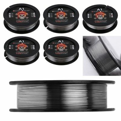 5Packs(50m) A1 Kanthal Resistance Wire 10m of each Gauge 24,26,28,30,32 UK
