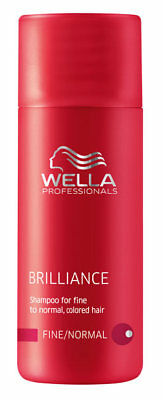 Wella Professionals Brilliance Shampoo für feines, normales Haar 50 ml