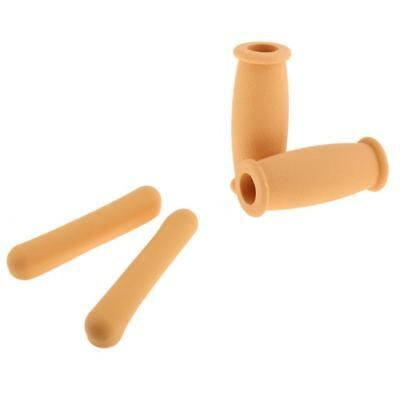 Comfortable Rubber Crutch Hand Grip Cover Underarm Pad Set for Walking Stick