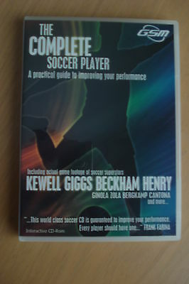 - The Complete Soccer Player Interactive Pc Cd-Rom  (As New) $29.75