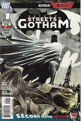 BATMAN STREETS OF GOTHAM 1........VF/NM.......2009.......Paul Dini.....Bargain!