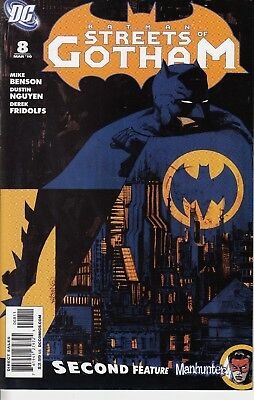 BATMAN STREETS OF GOTHAM     8......VF/NM.......2010.........Bargain!