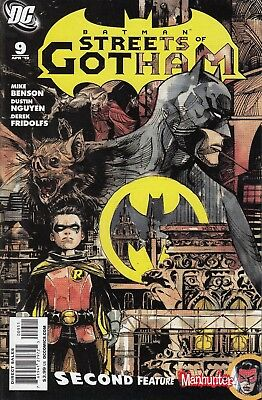 BATMAN STREETS OF GOTHAM     9......VF/NM.......2010.........Bargain!