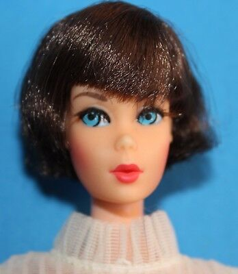 Barbie Vintage Hair Fair Brunette #4043 '60 Mod In #1869 Midi Magic 1968