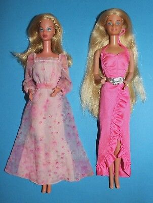 Barbie #2597 Kissing  #5579 Twirlwy Curls1982 '70 '80 1978 1982 Vintage  Lotto