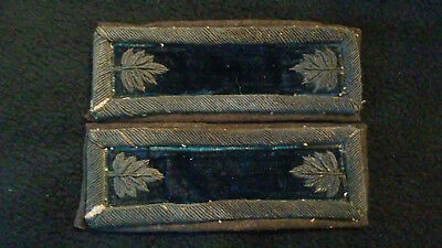 Original Set of US Civil War Shoulder Straps or Boards, Major of Infantry