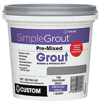 Pre-mixed Grout, Haystack, 1 Gal., Custom BLDG, PMG3801-2