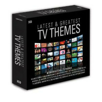 Various Artists : TV Themes CD (2012) ***NEW***