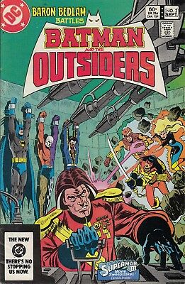 BATMAN AND THE OUTSIDERS     2......VF/VF+.....1st Series ....1983......Bargain!