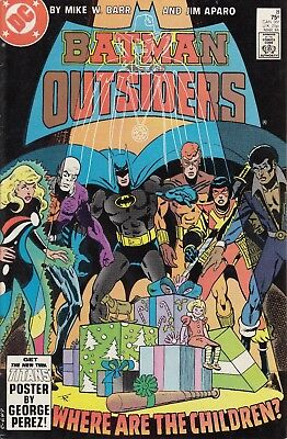BATMAN AND THE OUTSIDERS     8......VF/VF+.....1st Series ....1984......Bargain!