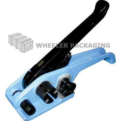 1 Tensioner tool for polypropylene strapping Banding up to 16mm wide