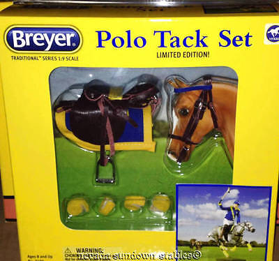 Breyer Model Horse Accessories Traditional Polo Saddle Set