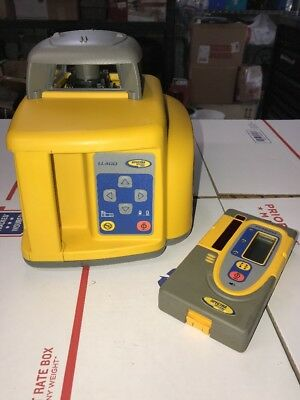 Spectra Precision Laser LL400 Rotary Laser w/ HR550 Receiver