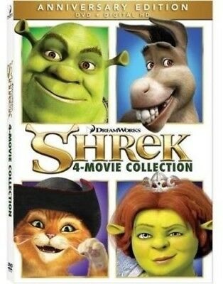 Shrek 4 Movie Collection [New DVD] Widescreen