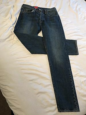 dbb0bc3c61c Levi's 501CT Men's Designer Faded Original Fit Tapered Leg Jeans BNWT