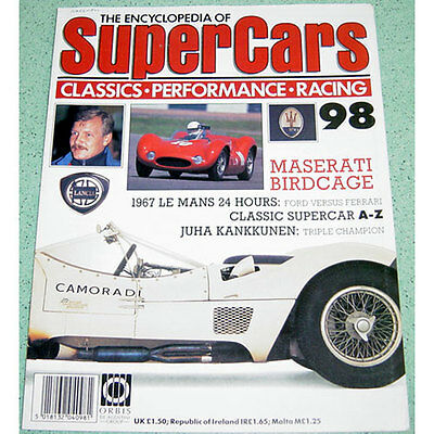 Maserati Birdcage Tipo 61 - Technical Cutaway Drawing + Fold-out Poster Print