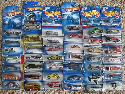 HOT WHEELS MIXED LOT OF 40 Cars per Order - New On Card FREE  SHIPPING