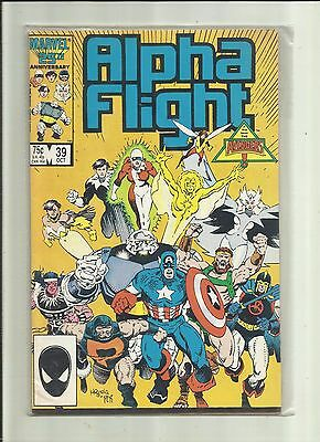 Alpha Flight (Vol 1) #  39 . Marvel Comics.