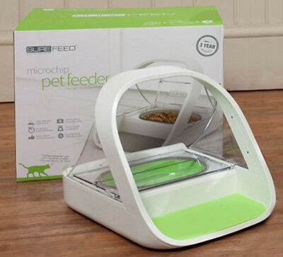 SureFeed Microchip Pet Feeder Training Dispenser Colours Vary BRAND NEW SEALED