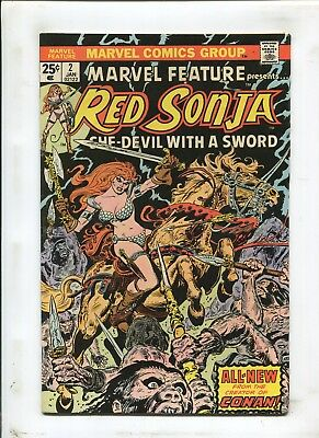 """Marvel Feature #2 - """"presents Red Sonja!"""" - (7.0) 1976"""