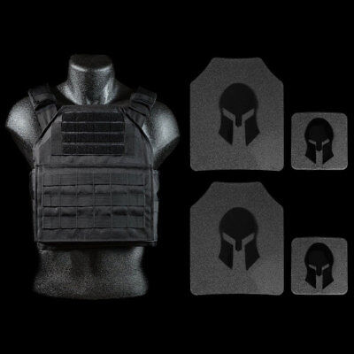 Spartan Armor Systems Spartan™ Omega™ AR500 Body Armor and Plate Carrier Package
