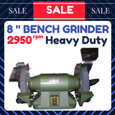 BENCH GRINDER 8 inch 200MM HEAVY DUTY INDUSTRIAL USE