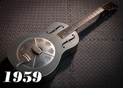 """Style """"O"""" resonator guitar by 1959 Guitar Co."""