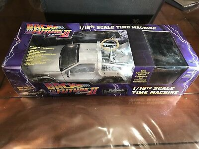 Back to the Future II 1/15th Scale DeLorean Time Machine 30th Anniversary New
