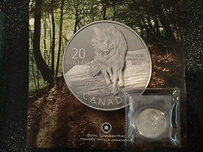 2013 Canada - $20 for $20 Wolf – Fine Silver Coin