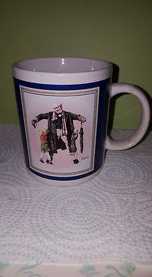 "Vintage Norman Rockwell Collection Mug 01/25/1936 ""The Gift""; Curtis Publishing"