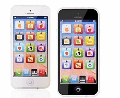 Kids Pretending Toys Learning Toy Play Fake Cell Phone with USB Recharable New