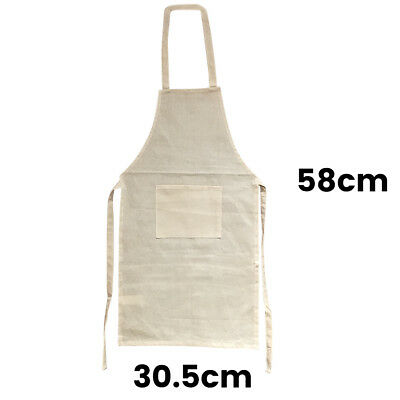 Kids Calico Apron Kids Apron Calico Kids Smock with Single Front Pocket