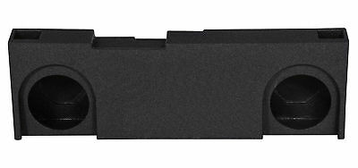 """Dual 12"""" Ported Vented Subwoofer Sub Box Enclosure For 14-15 GM/Chevy Crew Cab"""