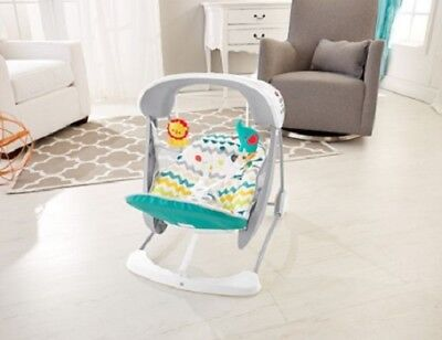 "Baby's Fisher-Price® Colourful Carnival Take-Along Swing & Seat ""2-in-1"""
