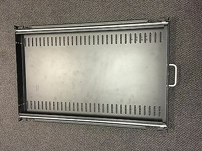 "APC AR8123BLK Sliding Rack Mount 19"" 1U Shelf Server Comms Network Cabinet USA"