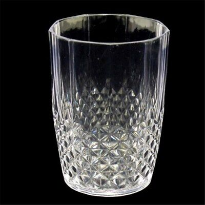 450ml 2 4 6 8 10 12 Acrylic Crystal Clear Plastic Tumbler Water Drinking Glasses