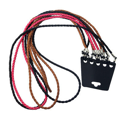 5pcs Fashion Colorful Leather Glasses Eyeglass Cord Holder Chain Strap