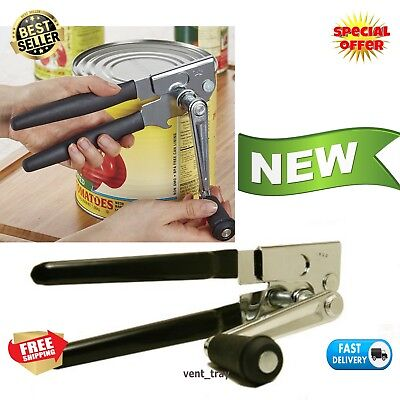 Easy Crank Can Opener Large Swing A Way Commercial Ergonomic Heavy Duty NEW