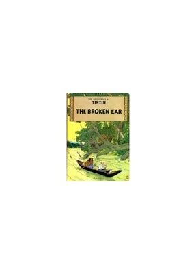 Broken Ear (Adventures of Tintin / Herg�) by Herge Paperback Book The Cheap Fast