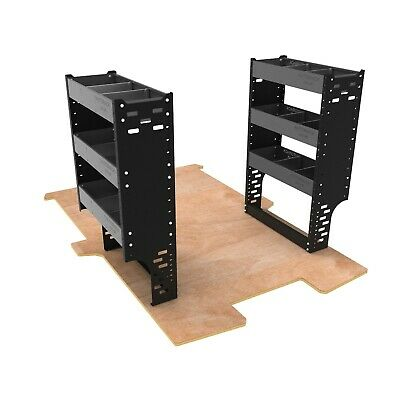 Van Racking System - Professional Steel Van Shelving Units For Nissan NV200 Van