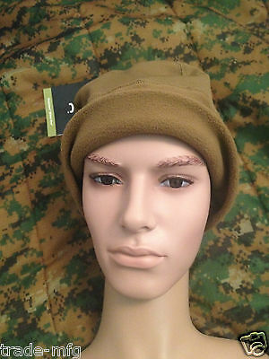 Rare New Usmc Issue Peckham Cw Hardface Polartec Micro Fleece Beanie Cap - L/xl